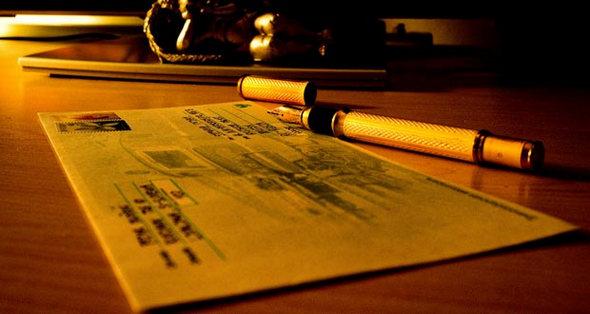 Обычное письмо. Бумажное.