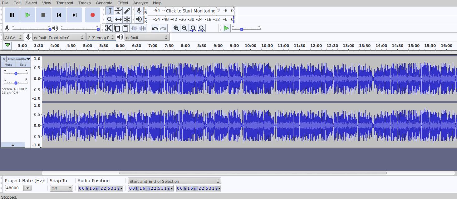 Программа для записи и обработки звука